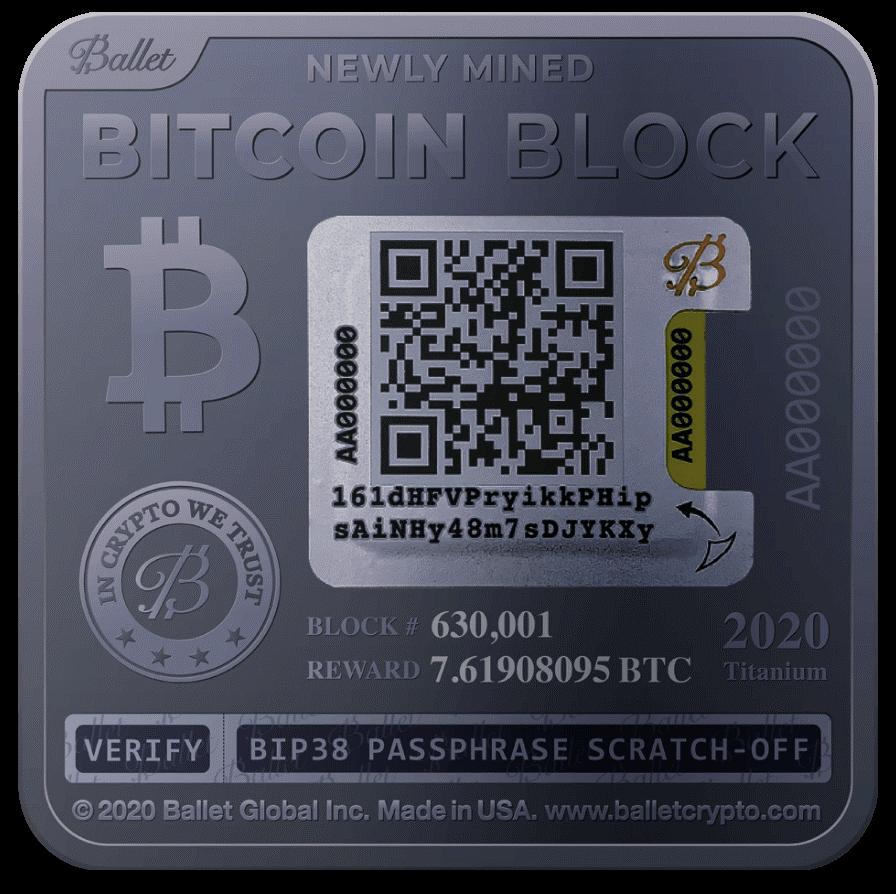 bitcoin block reward