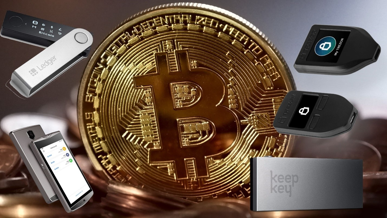 bitcoin hard and soft wallets 1