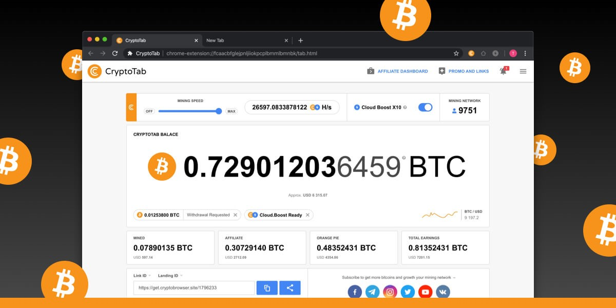 using a crypto browser
